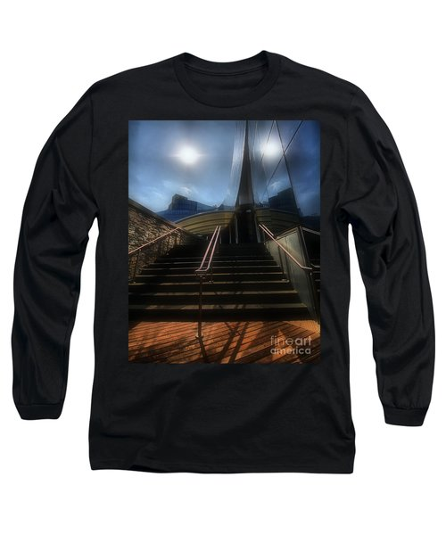 Long Sleeve T-Shirt featuring the photograph Lines N Textures by Robert McCubbin