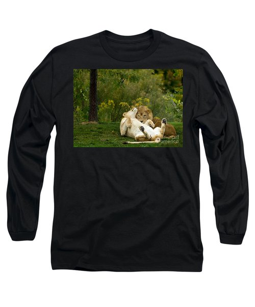 Lions In Love Long Sleeve T-Shirt