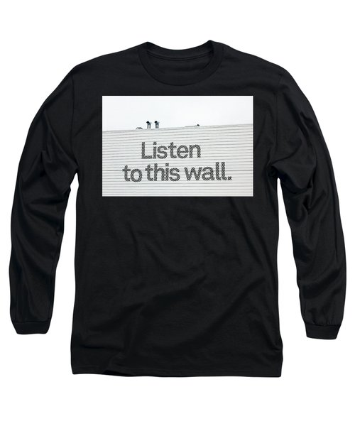 Listen Long Sleeve T-Shirt by Art Block Collections