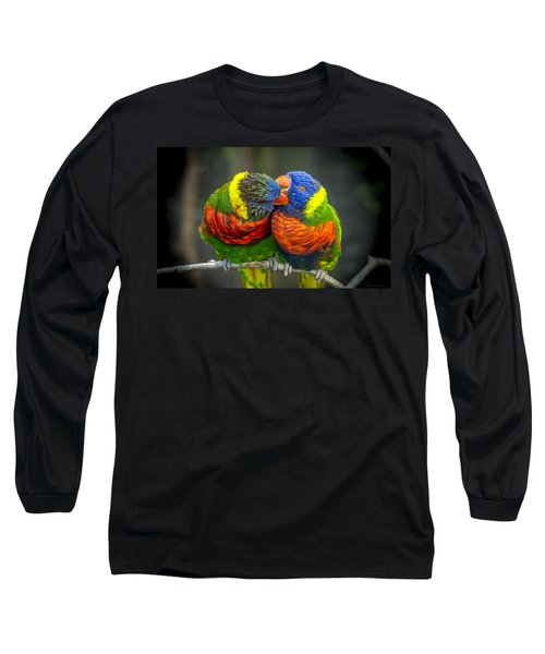 Listen Long Sleeve T-Shirt by Phil Abrams