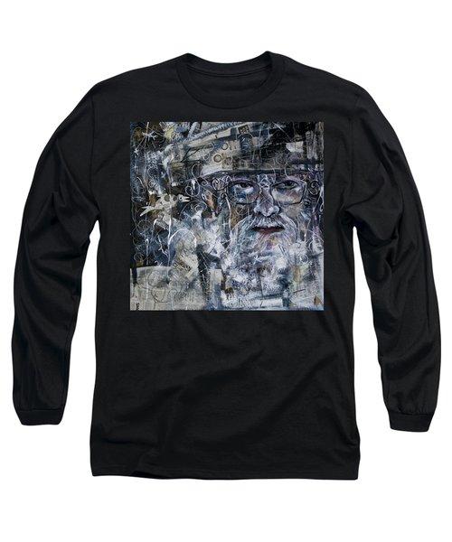 Listening Long Sleeve T-Shirt by Maxim Komissarchik