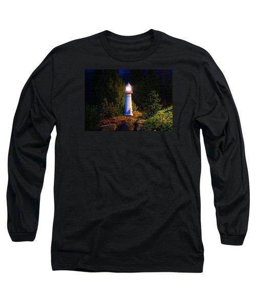 Lit-up Lighthouse Long Sleeve T-Shirt