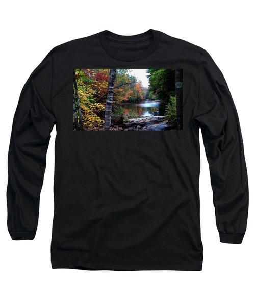 Little Androscoggin River Long Sleeve T-Shirt