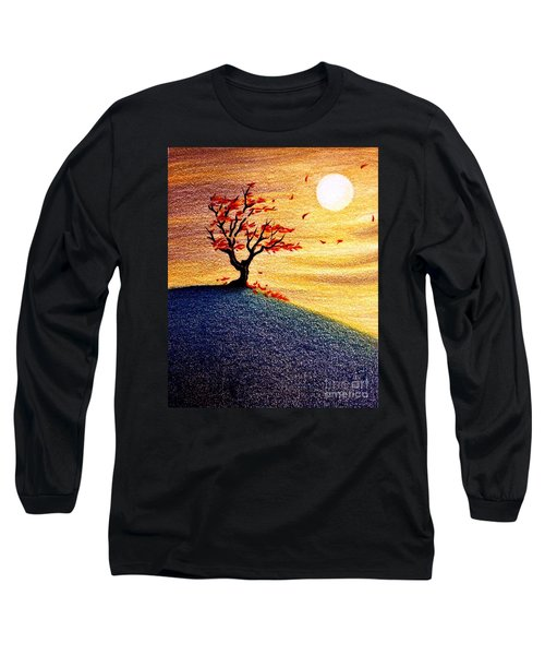 Little Autumn Tree Long Sleeve T-Shirt