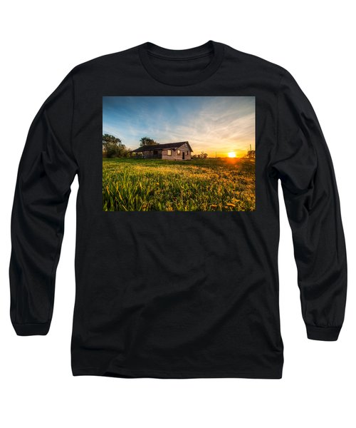 Little House On The Prairie Long Sleeve T-Shirt by Davorin Mance