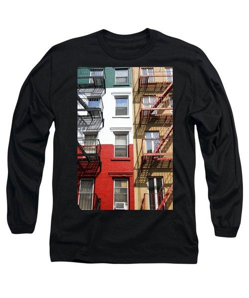 Little Italy. Long Sleeve T-Shirt by Menachem Ganon