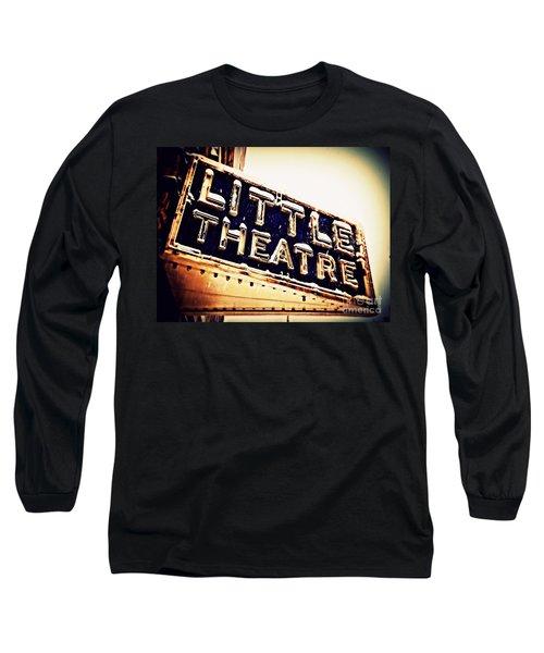Little Theatre Retro Long Sleeve T-Shirt by James Aiken