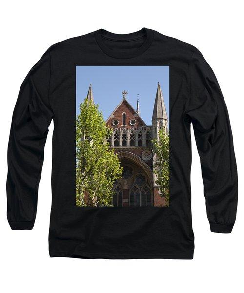 Long Sleeve T-Shirt featuring the photograph Little Venice Church by Maj Seda