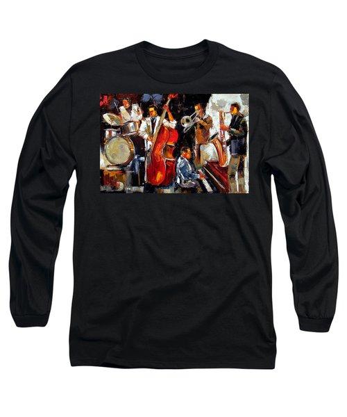Living Jazz Long Sleeve T-Shirt