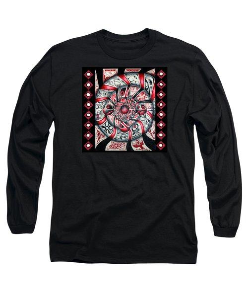 Living Spiral Long Sleeve T-Shirt