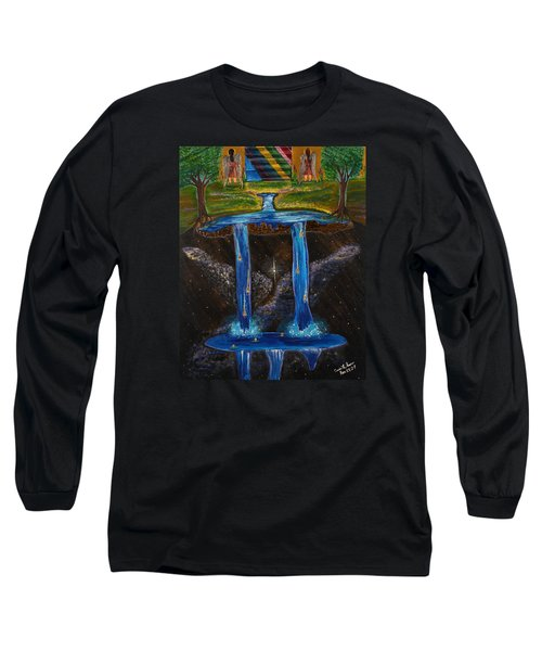 Living Water Long Sleeve T-Shirt by Cassie Sears