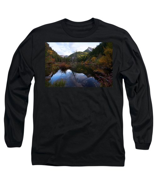 Long Sleeve T-Shirt featuring the photograph Lizard Lake by Jim Garrison