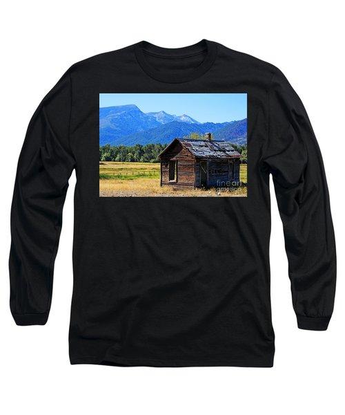 Long Sleeve T-Shirt featuring the photograph Location Location Location Montana by Joseph J Stevens