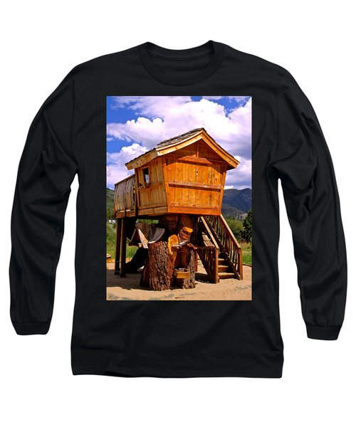 Log Cabin Penthouse Long Sleeve T-Shirt