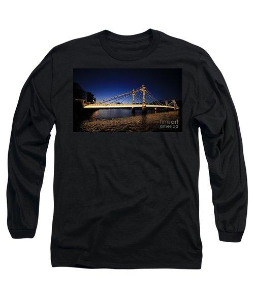 London Albert Bridge  Long Sleeve T-Shirt