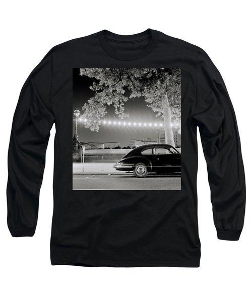 Porsche In London Long Sleeve T-Shirt by Shaun Higson