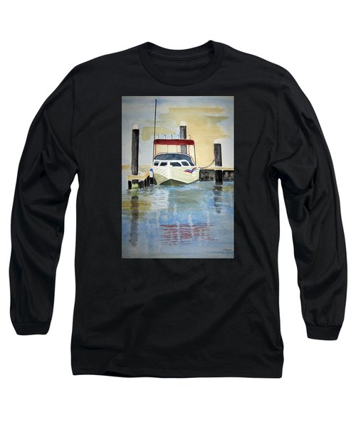 Lone Boat Long Sleeve T-Shirt