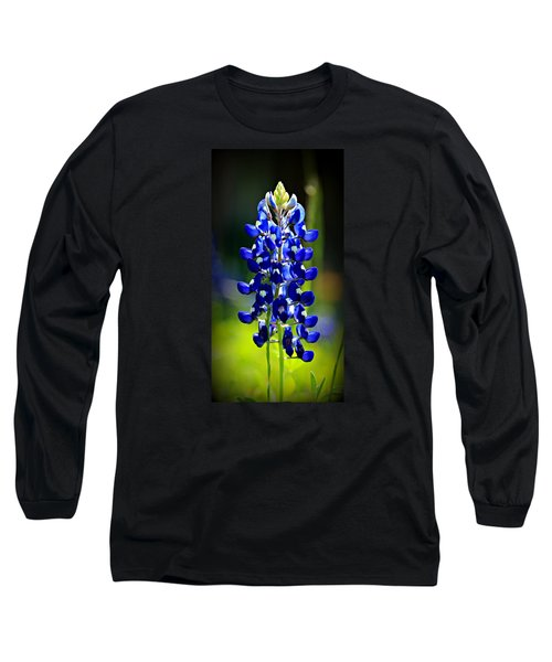 Lone Star Bluebonnet Long Sleeve T-Shirt