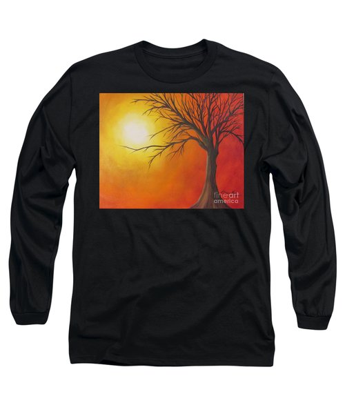 Lone Tree Long Sleeve T-Shirt by Denise Hoag
