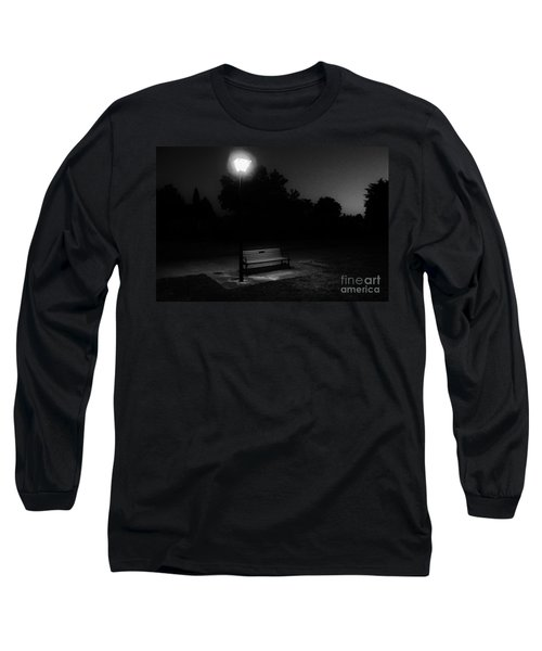 Long Sleeve T-Shirt featuring the photograph Lonely by Michael Cross