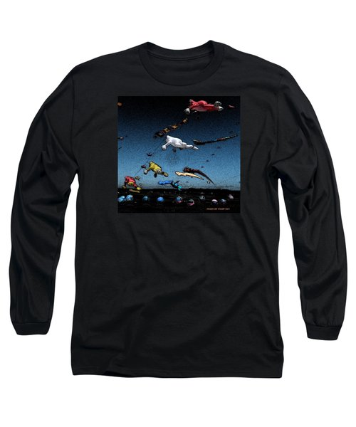 Long Beach Kites 2012				 Long Sleeve T-Shirt