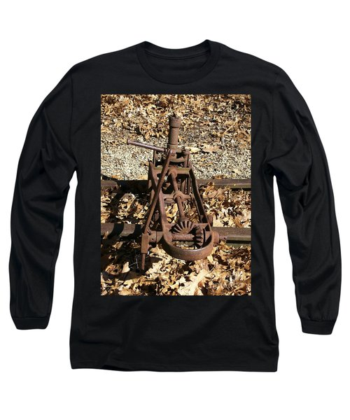 Long Sleeve T-Shirt featuring the photograph Long Forgotten by Sara  Raber