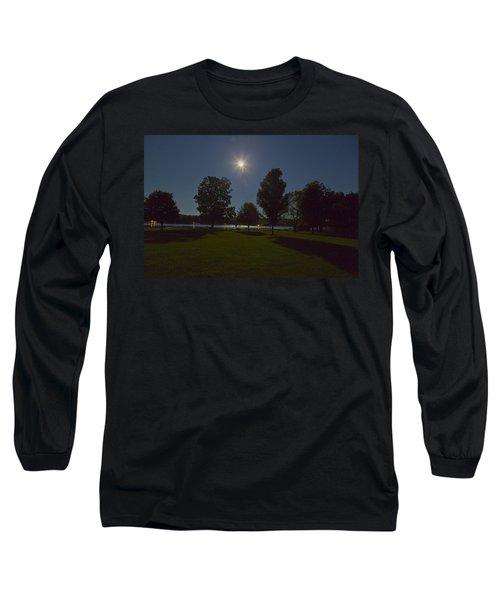 Night Shadows  Long Sleeve T-Shirt by Richard Engelbrecht