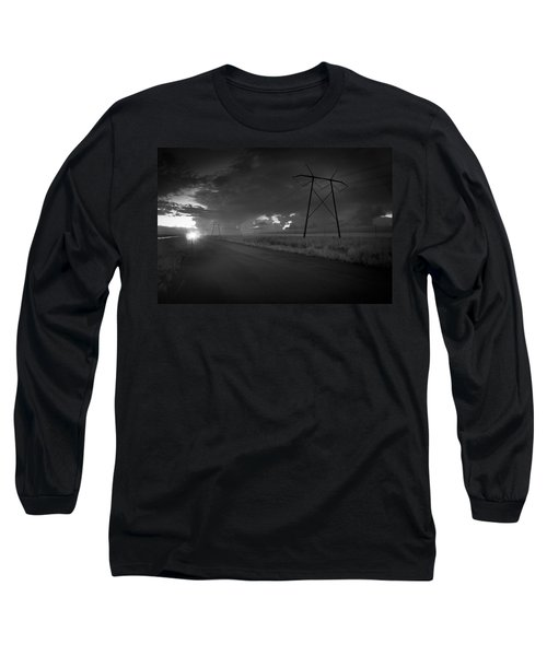 Long Road Home Long Sleeve T-Shirt by Bradley R Youngberg