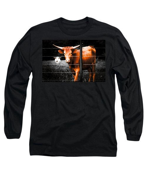 Longhorn Curiosity Long Sleeve T-Shirt