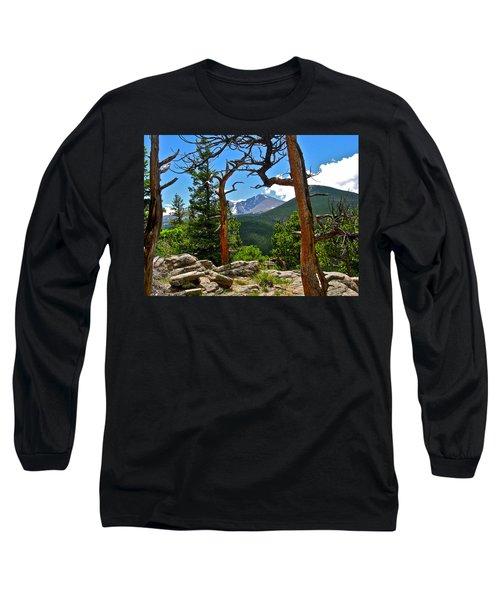Longs Peak Long Sleeve T-Shirt