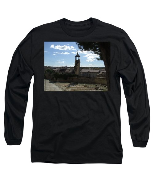 Look Out Tower On The Approach To Beaucaire Castle Long Sleeve T-Shirt