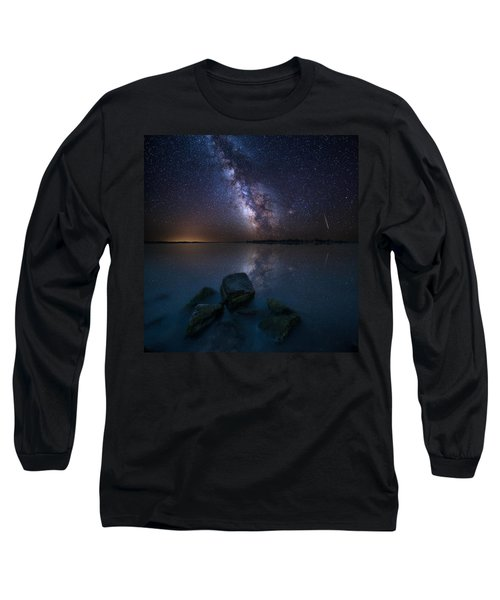 Looking At The Stars Long Sleeve T-Shirt