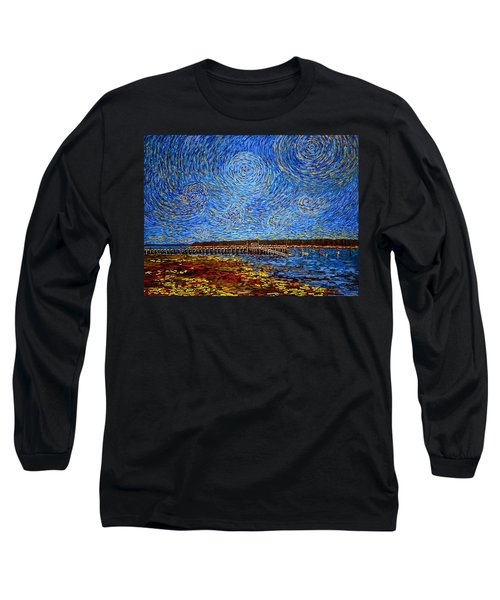 Looking East - St Andrews Wharf 2013 Long Sleeve T-Shirt