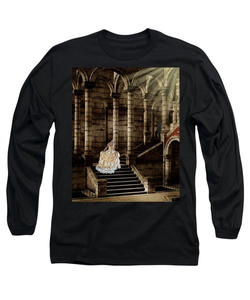 Looking For Love Long Sleeve T-Shirt by Davandra Cribbie