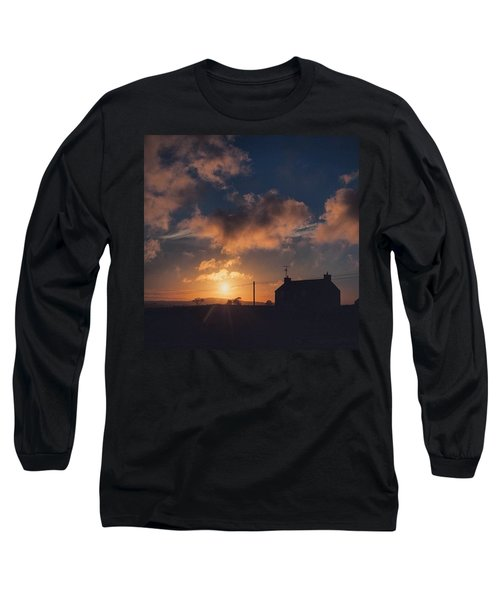 Looking Forward To Being Home... At Long Sleeve T-Shirt