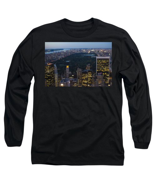 Looking From Top Of The Rock Long Sleeve T-Shirt
