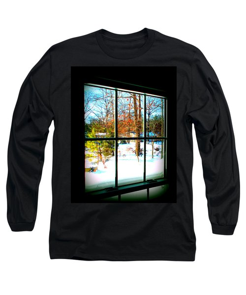 Looking Out Long Sleeve T-Shirt