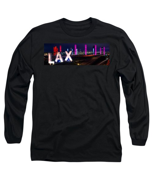 Los Angeles Intl Airport Los Angeles Ca Long Sleeve T-Shirt