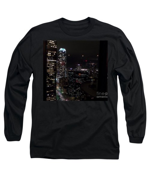 Los Angeles Nightscape Long Sleeve T-Shirt