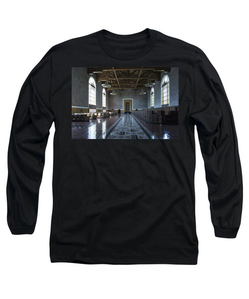 Los Angeles Union Station Original Ticket Lobby Long Sleeve T-Shirt