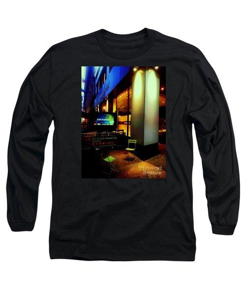 Lost Conversation Long Sleeve T-Shirt by James Aiken