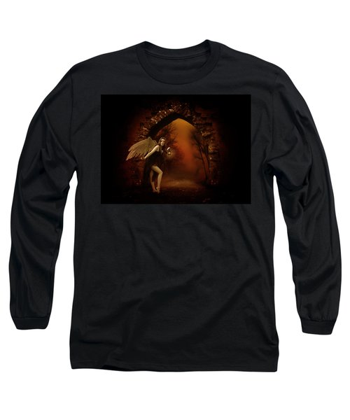 Long Sleeve T-Shirt featuring the photograph Lost Fairy by Ester  Rogers