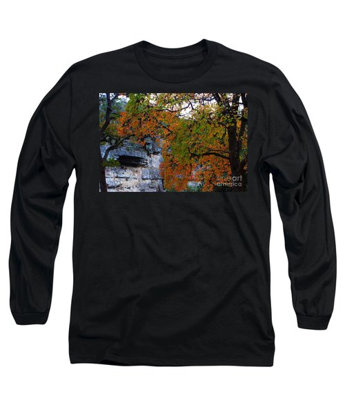 Fall Foliage At Lost Maples State Natural Area  Long Sleeve T-Shirt
