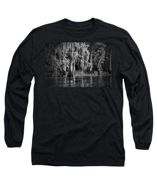 Louisiana Bayou Long Sleeve T-Shirt by Mountain Dreams