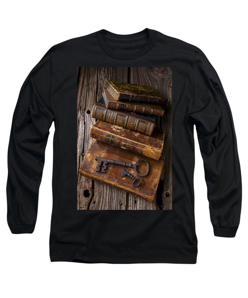 Love Reading Long Sleeve T-Shirt by Garry Gay