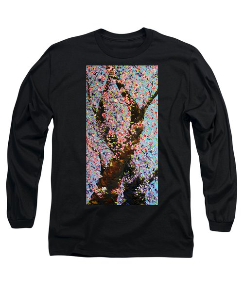 Long Sleeve T-Shirt featuring the painting Love Wound by Meaghan Troup