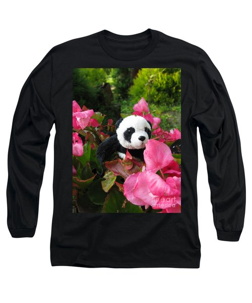 Lovely Pink Flower Long Sleeve T-Shirt