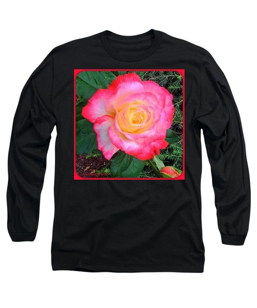 Love's First Blush - A Little Red And Long Sleeve T-Shirt