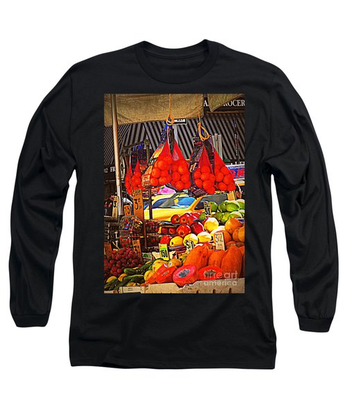 Long Sleeve T-Shirt featuring the photograph Low-hanging Fruit by Miriam Danar