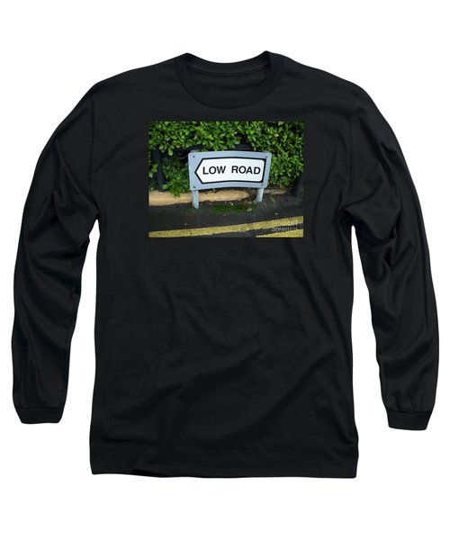 Low Road Long Sleeve T-Shirt by Marilyn Zalatan